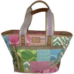 Coach Vintage M050-378 Patchwork and leather bag